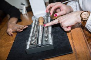 gay wedding rings measurement