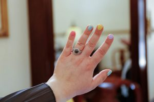 Where To Put The Engagement Ring