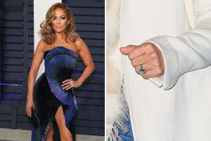 Jennifer Lopez - Engagement Ring