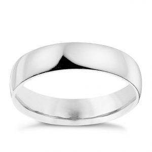 Palladium Diamond Ring - Unsual Wedding Rings