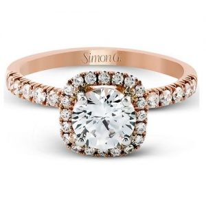 Passion Rose Gold Engagement Ring
