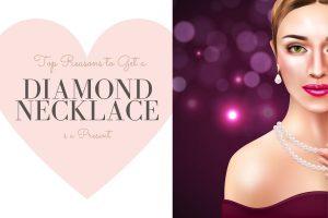Diamond Necklace as a gift