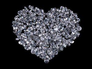 Diamond necklace gift