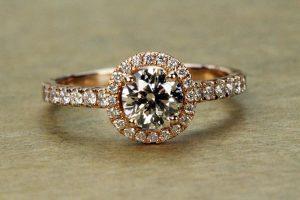Rose Gold Matching engagement rings